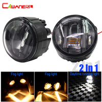 Cawanerl 2 шт. автомобиль светодиодный фонарь DRL дневные Бег лампа для Infiniti EX35 ex37 FX37 FX45 FX50 M37 m56 qx70 QX50 Q60 G25 G37