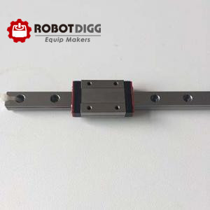 RobotDigg Grc15 MGN9 linear rail with stainless steel block custom guide length