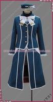 Kantai Collection Atago Cosplay Costume for Womens Suit Skirt M006