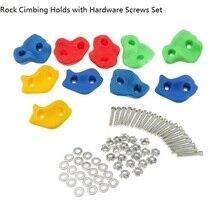 Детская игровая площадка на открытом воздухе, пластиковая скалолазание, настенный набор, набор камней на заднем дворе, детские игрушки