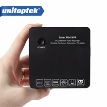 Unitoptek супер мини NVR 4Ch 8Ch CCTV IP Камера сети видео Регистраторы наблюдения 4/8 канала NVR ONVIF 1080 P/ 960 P/720 P P2P