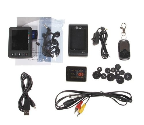 2,5 LCD Engel Auge Portable Mini Video Video aufnahmesystem taste DVR Recorder Kamera 750 - 6