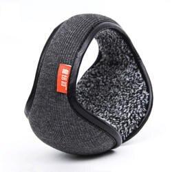 Зимние наушники теплая шерсть трикотажные ухо теплым складной искусственный кашемир ухо муфты ухо крышка сумка назад носить Earflap для Для