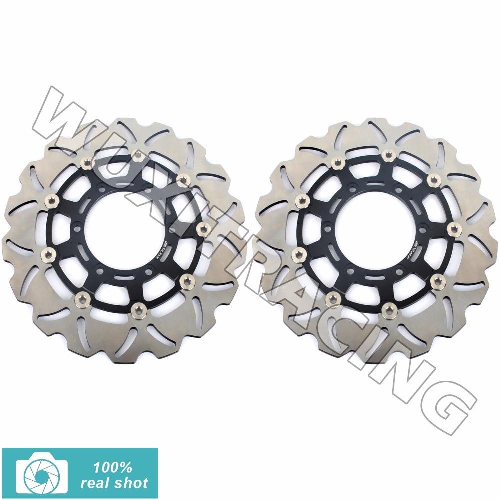1 pair motorcyle front brake discs rotors for suzuki gsxr 600 750 1000 gsxr600 gsxr750 gsxr1000