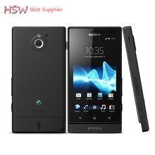 Sony Xperia Sola MT27i оригинальный разблокирована сотовый телефон Sony Ericsson MT27i 8 ГБ dual-core 3 г/м² WI-FI GPS 5MP Бесплатная доставка