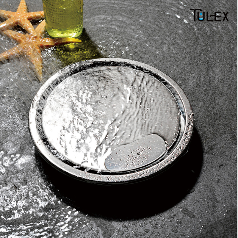304 solid stainless steel Round anti-odor floor drain bathroom invisible shower floor drain floor waste free shipping 4 invisible brass anti odor bathroom shower floor drain sewer filter dr029