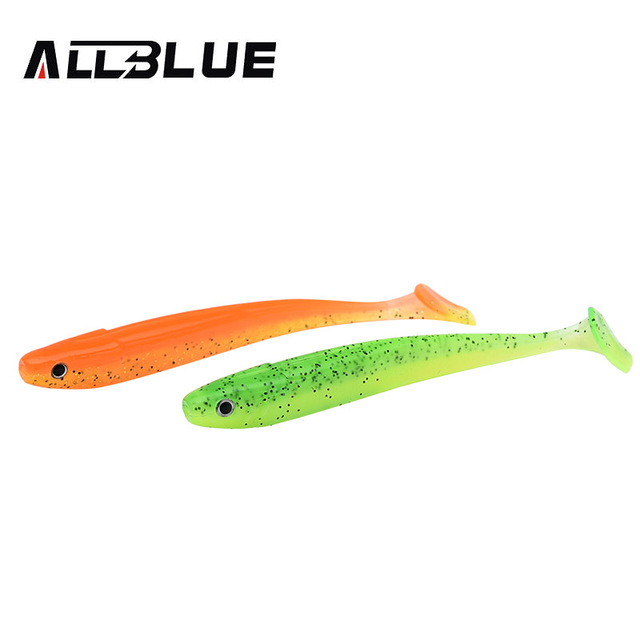 ALLBLUE Vivid Worm Soft Lures