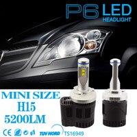 Error Free Canbus HID White 110W H15 Philips MZ LED Headlight Fog DRL Bulbs For Audi