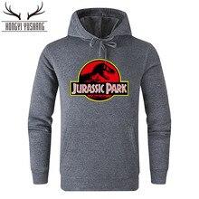 Jurassic Park Толстовка для мужчин и женщин пуловеры флисовые толстовки Винтажный стиль Мир Юрского периода Толстовка Джемпер унисекс Casaco Feminino W88