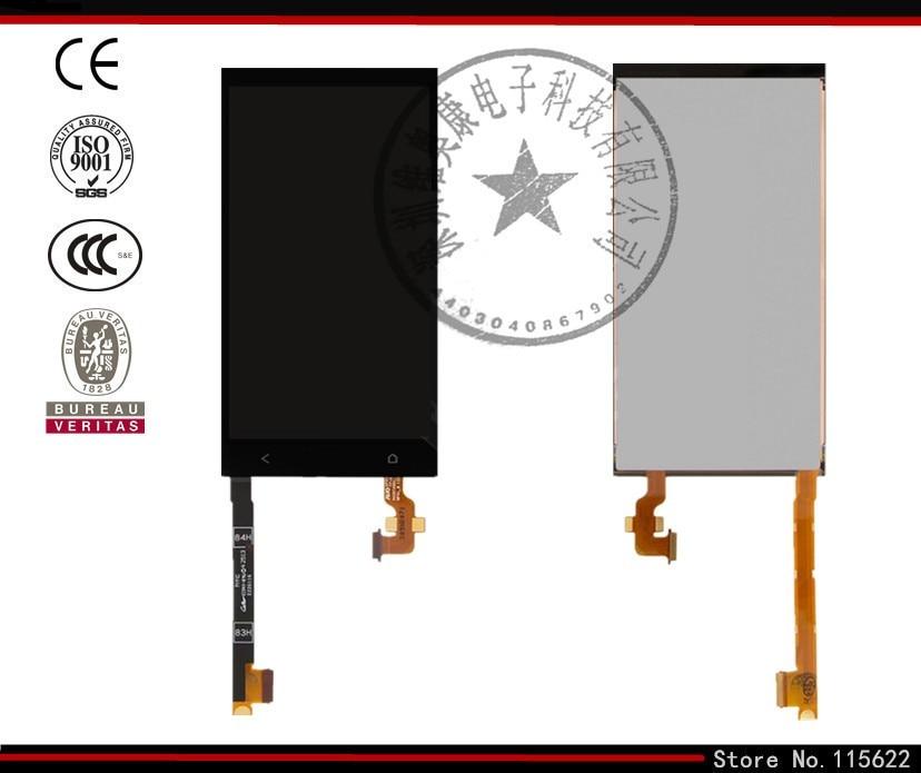 Pantalla lcd de pantalla para htc one mini 601n teléfono celular, (negro, con pa