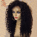 8A Brazilian Full Lace Wig Glueless Lace Front Human Hair Wigs 100% Virgin Hair Deep Wave Full Lace Human Wigs For Black Women