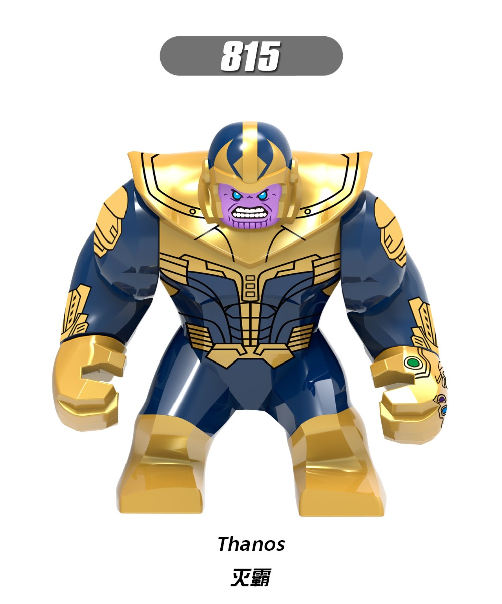 Single Marvel Avengers 3 Infinity War Infinity Gauntlet With Stones Thanos Iron Man Spider Man building