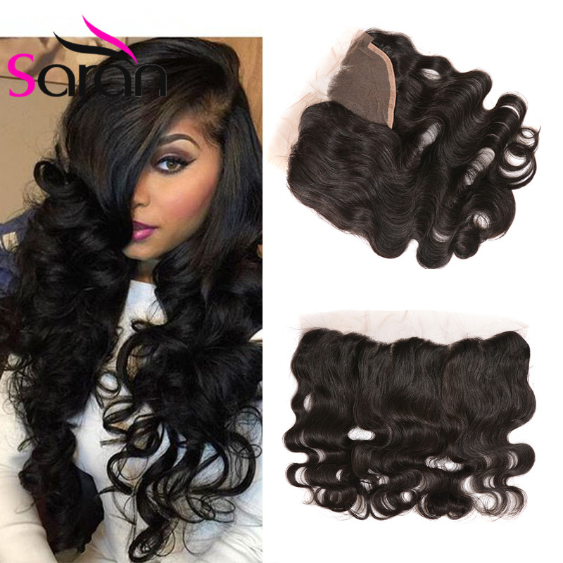 Custom Peruvian Body Wave Best Lace Frontal Closure 13x6 Ear To Ear