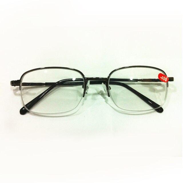 6d39807beac26 -1.0-4.0 Cinza Miopia Óculos De Meia Armação Óculos Míopes Blear-eyed Óculos