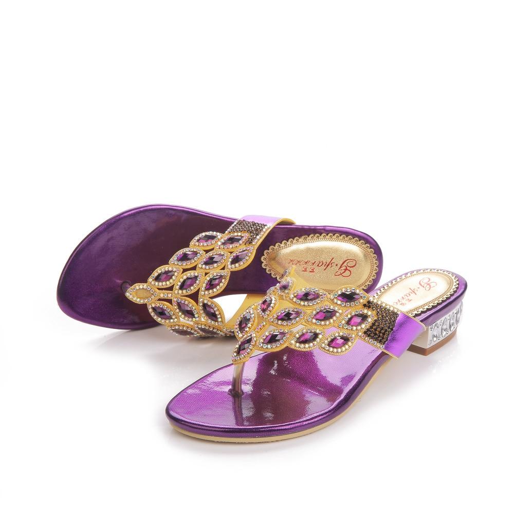 Nouvelle mode chaude strass mariage et fête de haute qualité pantoufles chaussures pour robe de soirée, femmes pantoufles, femmes chaussures