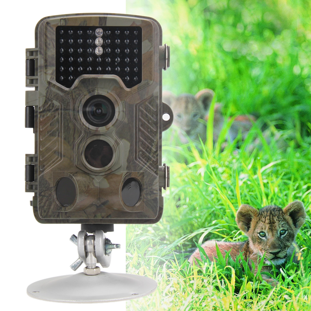 12MP HD Digital Wildlife Hunting Camera Infrared Scouting Trail Camera Portable Night Vision Video Recorder for Outdoor Hunting 940nm scouting hunting camera 16mp 1080p new hd digital infrared trail camera 2 inch lcd ir hunter cam
