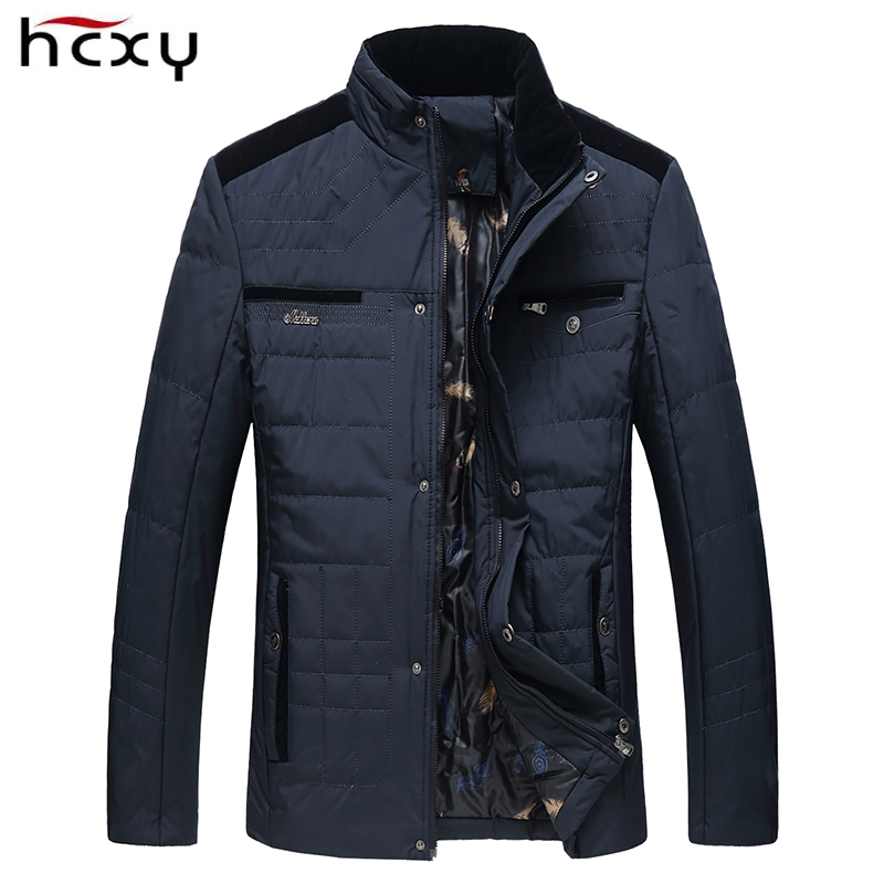 HCXY 2019 Autumn Winter Jacket Men Warm Jackets And Coats For Men Casual Coat Outerwear Brand Clothing Mens Parkas