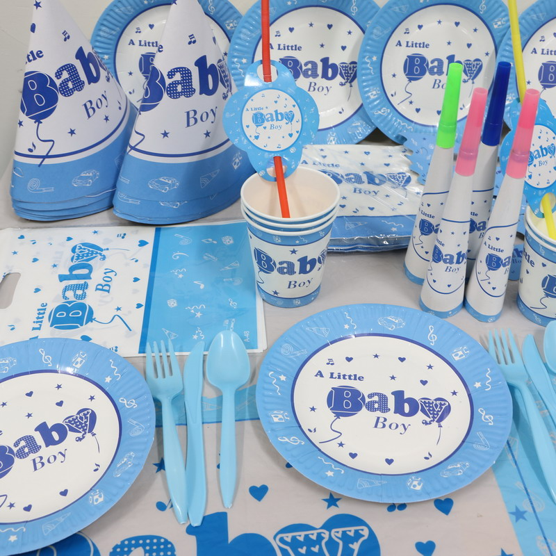 Hot 1pack 118pcs kid birthday party decoration set the for Baby decoration stores