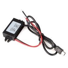 TOYL Инвертор Преобразователь 12 В до 5 В 3A DC-DC USB Автомобильный Черный Адаптер