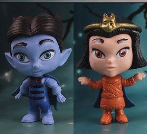 Image 4 - 6 יח\סט מפלצת דמויות צעצוע סופר בובת PVC אנימה פעולה איור דגם בובת צעצועי מתנה