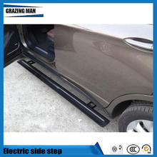 Hot sale Flexible aluminium alloy side step running board Electric pedal for Envision 2014 - 2017