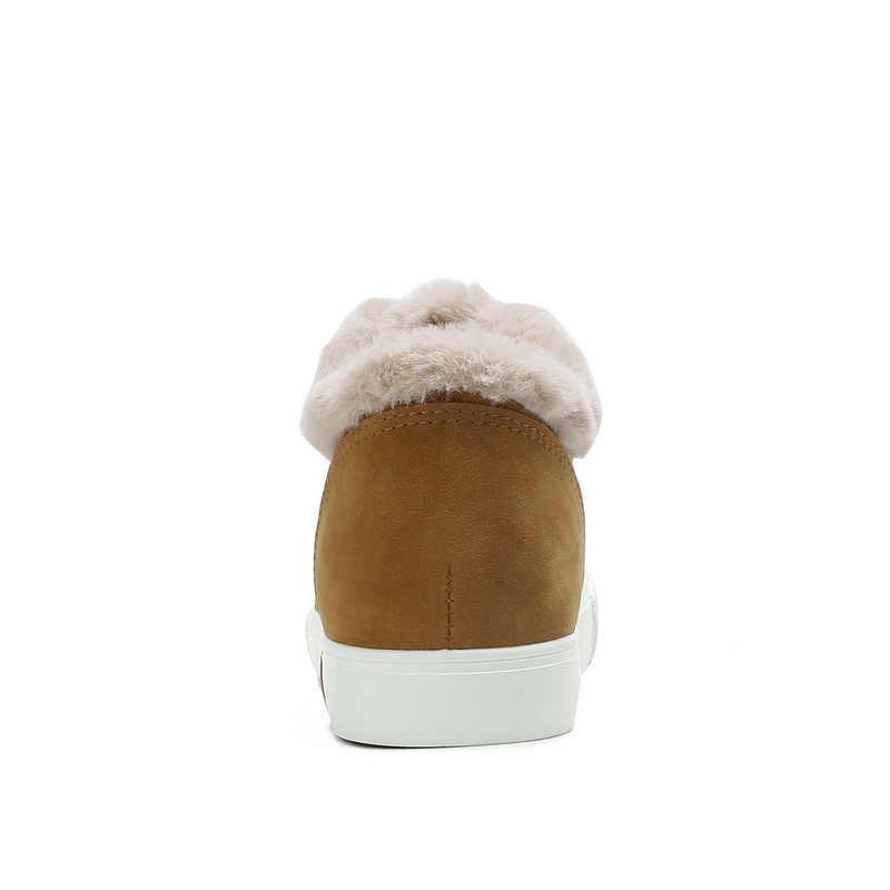 חם בפלאש קרסול מגפי 2018 מותג נשים שלג מגפי נעלי טריז מגפי שלג