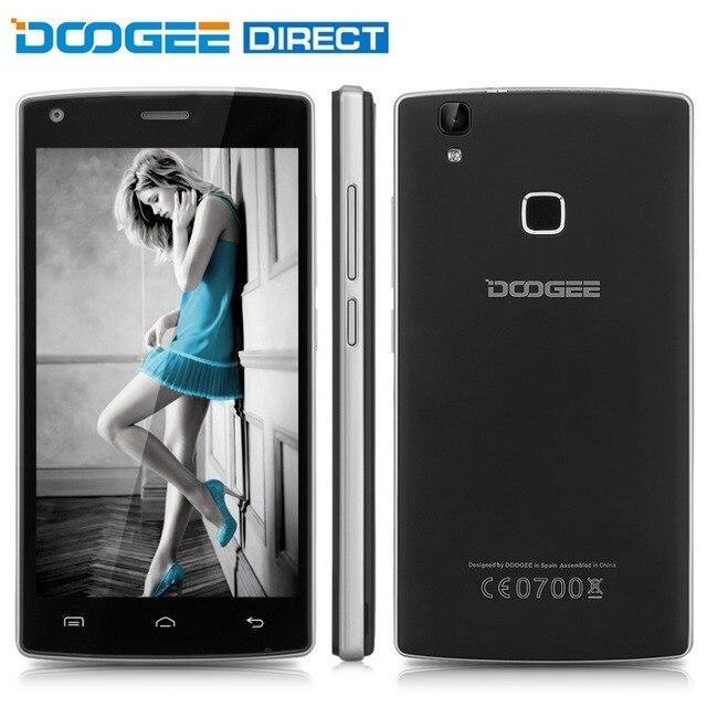 DOOGEE X5 MAX/X5 Max Pro 5.0 дюймов Смартфон Android 6.0 MTK6580 Quad Core 2 ГБ RAM 16 ГБ ROM Датчик отпечатков пальцев Сена