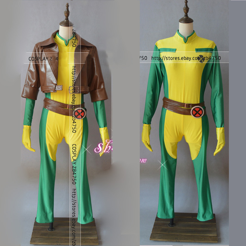 Us 85 0 X Men Rogue Cosplay Costume For Adult Halloween Outfit Custom Made In Movie Tv Costumes From Novelty Special Use On Aliexpress Com