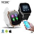 TOP! 30 YCDC ПОЛЕ SmartWatch Z9 Clock Sync Sim Push Сообщение Подключение Bluetooth Smart Watch для Apple iPhone Samsung Сотовый Телефон