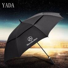 YADA длинный двойной Mercedes-Benz автоматический зонт дождь УФ Высокое качество складной зонт автомобиль для женщин мужчин ветрозащитные Зонты YS388