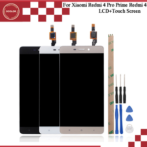 "Image 1 - Ocolor 5.0 ""עבור Xiaomi Redmi 4 טלפון LCD מסך תצוגת מגע Digitizer מסך LCD + כלים עבור Xiaomi Redmi 4 פרו ראש Redmi 4"