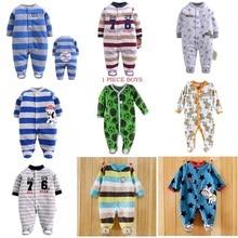 Autumn Baby Rompers Christmas Baby Boy Clothes Newborn Clothing Polar Fleece Baby Girl Clothes Roupas Bebe Infant Baby Jumpsuits цена в Москве и Питере