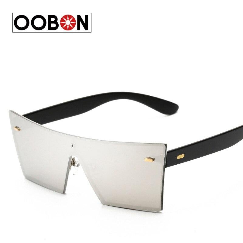 CVOO Brand Designer Celebrity Metal Men Oversized Sunglasses Fashion Luxury Square Sunglasses Women Mirror Lens JUu2G3s7