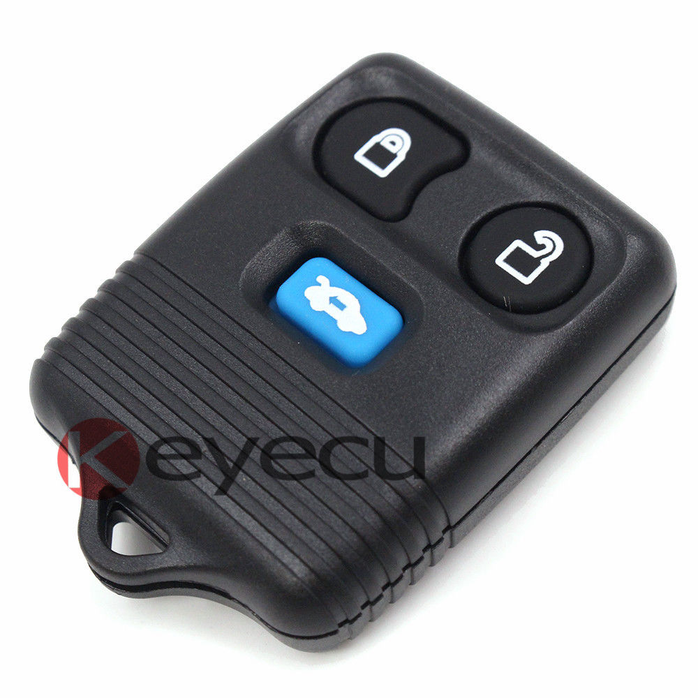 10pcs lot replacement part remote key for ford transit mk6 2000 2006 transit connect 2000 2007 fob 3 button 433mhz