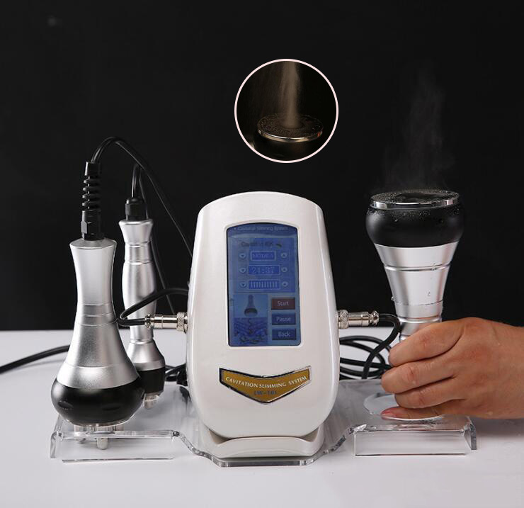 Portable Home 2 In 1 40K Ultrasonic Vacuum Cavitation Slimming 5M  Multipolar Beauty Machine With 3 Treatment  DHL Free Shipping