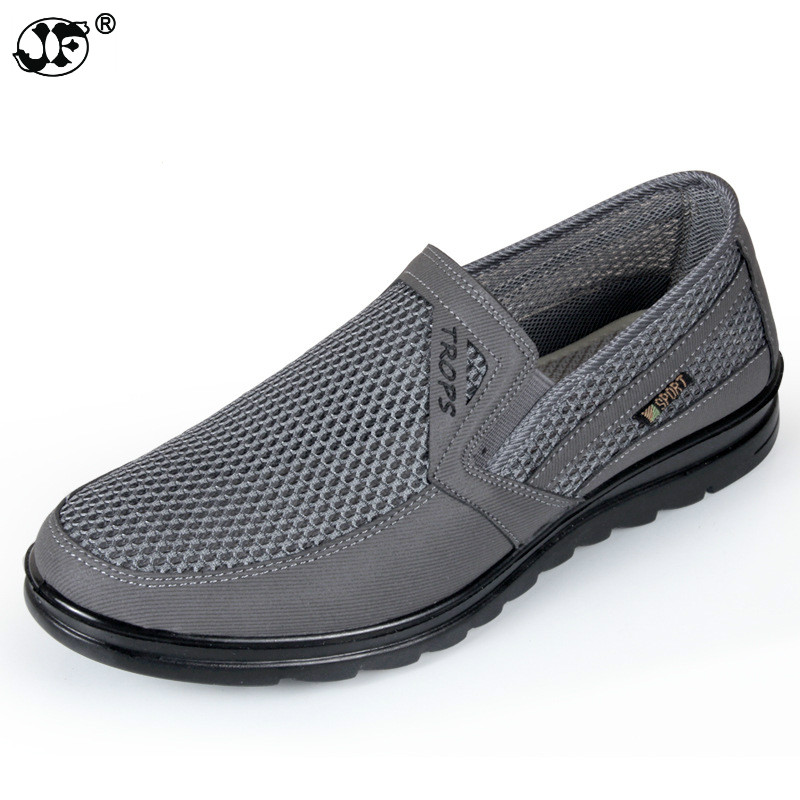 MenS Casual Shoes,Men Summer Style Mesh Flats For Men Loafer Creepers Casual High-End Shoes Very Comfortable Size:38-44