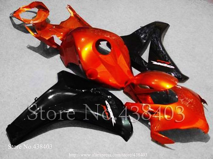 * Orange red black CBR1000RR 2008 2009 2010 2011 CBR1000 RR ABS Plastic Bodywork Set Fairing honda CBR 1000 08 - yuxia song's store