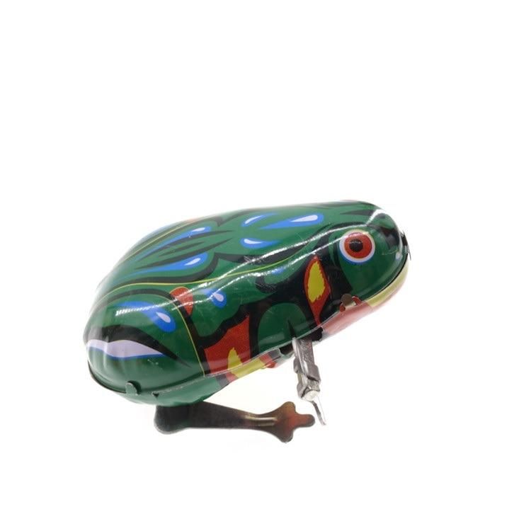 classic clockwork frog nostalgia Pure iron play Jumping ...