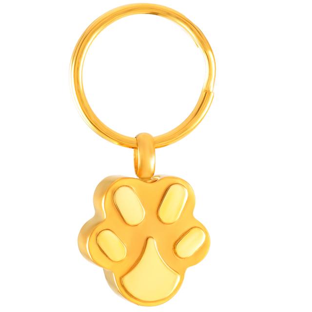 Cat Paw Keyring