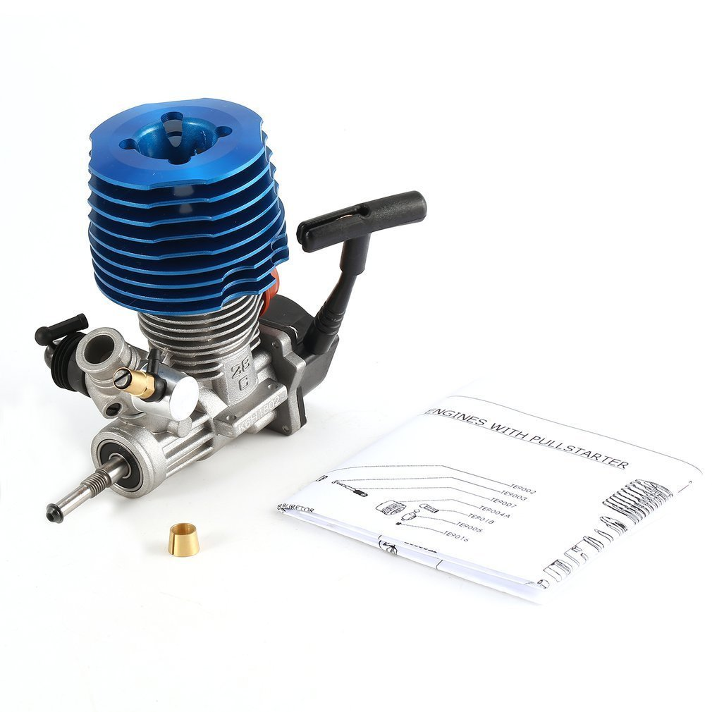 HSP RC Car 1: 8 Buggy Monster Truggy Nitro Engine SH 28 CXP Engine M28-P3 4.57CC 3.8hp 33000 rpm Side Exhaust Pull Starter hsp 02024 differential diff gear complete 38t for 1 10 rc model car spare parts fit buggy monster