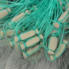 New 30mx1.2m Clear White Monofilament Nylon Soft Gill Fishing Net Trap Fishing Assistant Sea Fish Tackle Accessory Tools