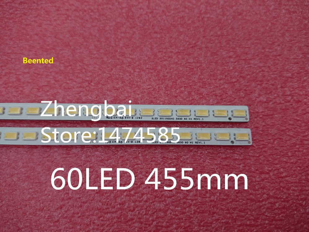 Beented New 50 Pieces lot 40INCH L1S 2011SGS40 5630 60 LED strip bar for LTA400HM08 40
