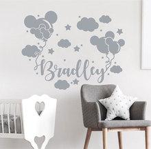 Vinyl Custom Name Applique, Baby Boy Room Decor, Nursery Fashion Disney Decal DIY20