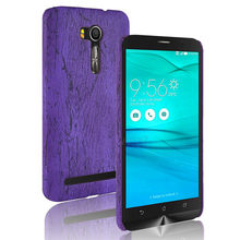 SuliCase Leather Case for Asus Zenfone Go TV ZB551KL Wood Grain Phone Case Cover for Asus Zenfone Go TV ZB551KL 5.5