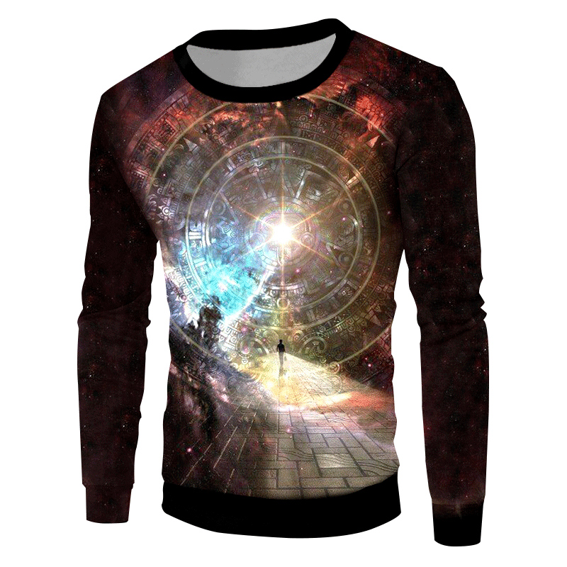 UJWI Starry Star Pullovers 2018 New Arrival Men Creative Design Galaxy Space Printed 3D Sweatshirt Hoodies Hombre Casual Sweats in Hoodies amp Sweatshirts from Men 39 s Clothing