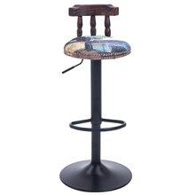 Saudi Arabia Dubai Popular bar stool retail and wholesale coffee house Western European fashion stool free shipping