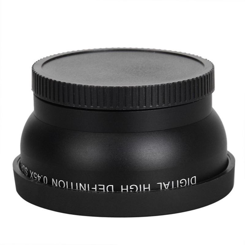 58MM 0,45x vidvinkelobjektiv + makro objektiv til Canon EOS 350D / - Kamera og foto - Foto 3