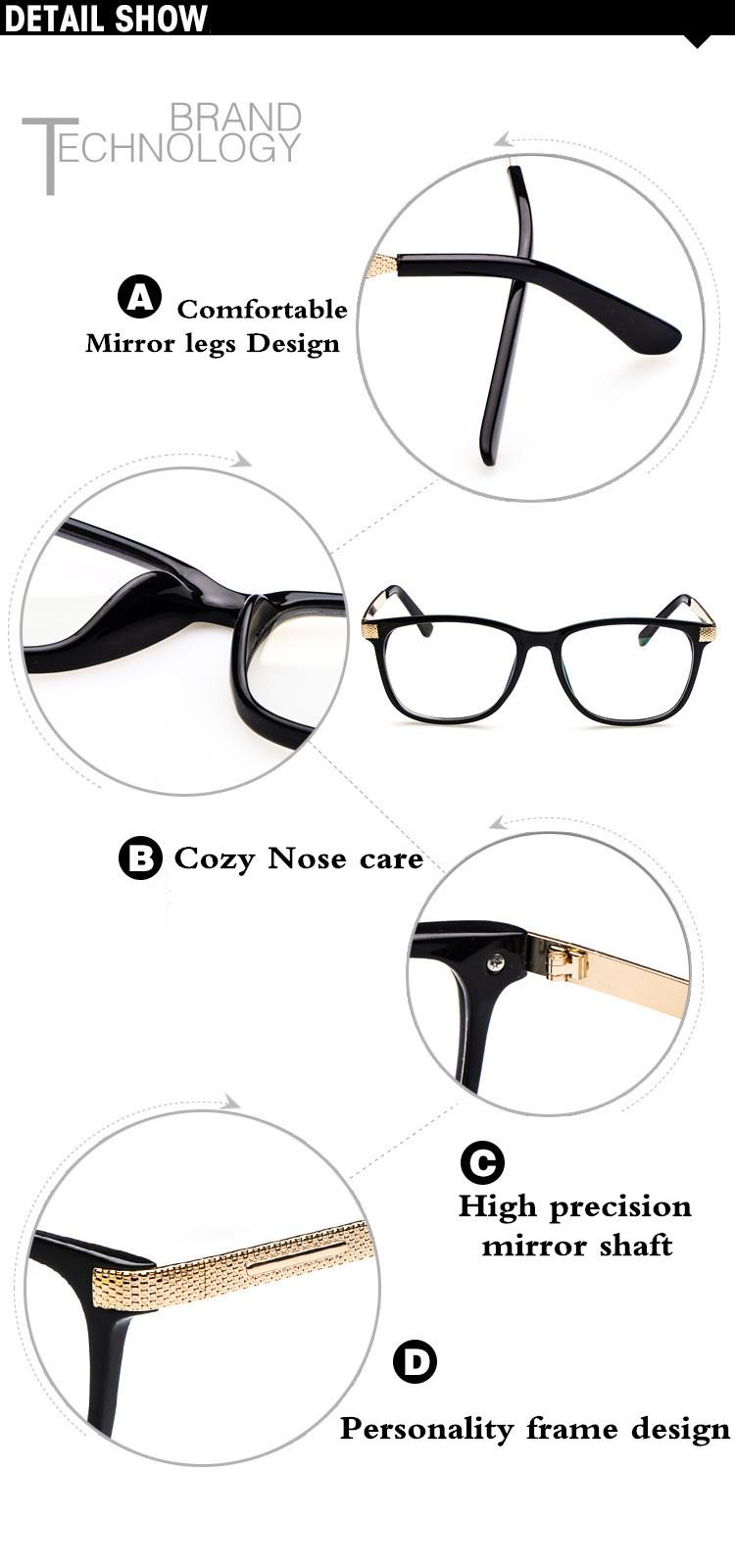 KGS Square Glasses Optical 11