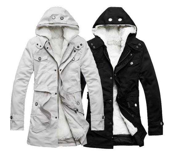 MA009 Holiday sale high quality Mens Hooded Winter Warm Parka ...