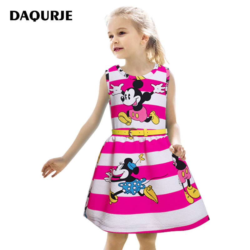 Kids Dresses Girl Party Dress Fashion Minnie Summer Baby Girls Clothes Children Vetement Robe Fille Costume Vestido Infantil summer baby dress voile floral wedding dresses for girls toddler infant girl vestido infantil girls costume cute dress clothes